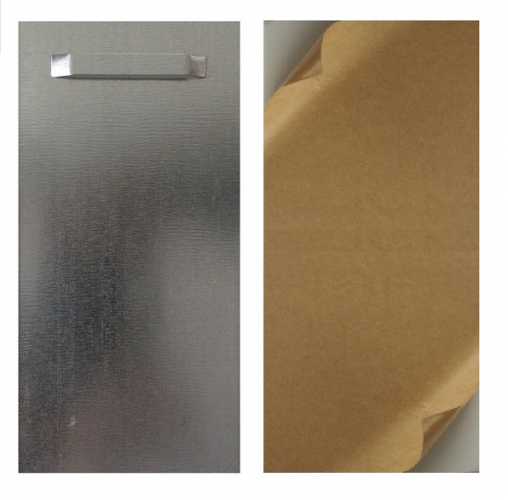 Hanging Plate, Panel Hanging System, self-adhesive - size: 100x200mm