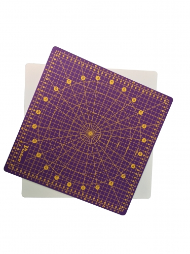 Cutting Mat, turnable, violet, 320x320mm