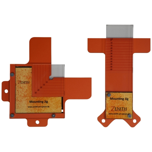 Mounting JIG, tool for mounting pictures